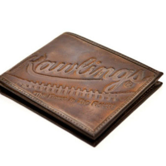 Rawlings Other - Rawlings Fielder's Choice Brown Leather Wallet